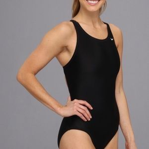 Nike one piece swimsuit black size 14